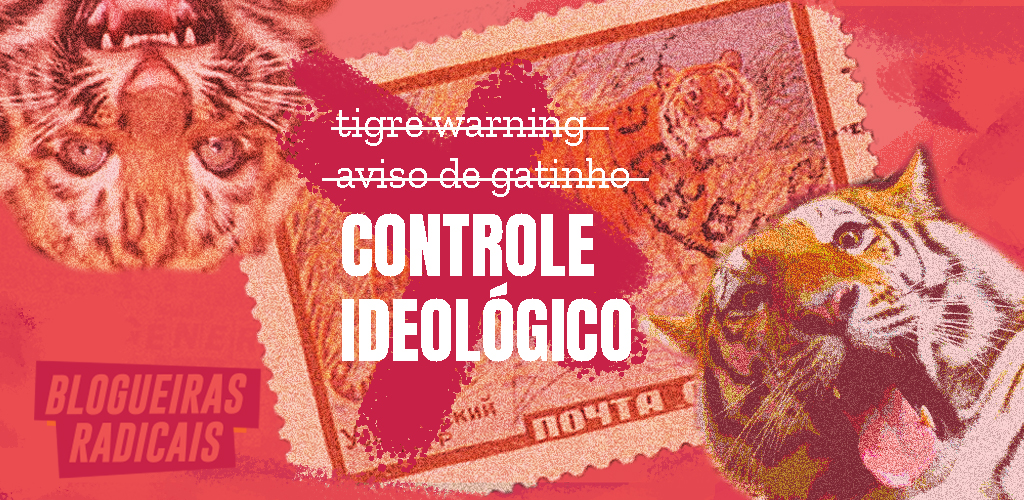 Não é gatilho, é controle ideológico
