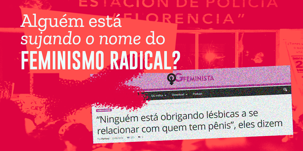 Feminismo radical bonzinho, feminismo radical do mal